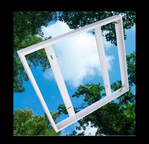 Opbouw Frame met 1 stuk Wolkenplafonds  - 5253-sll wolk-opbouwframe