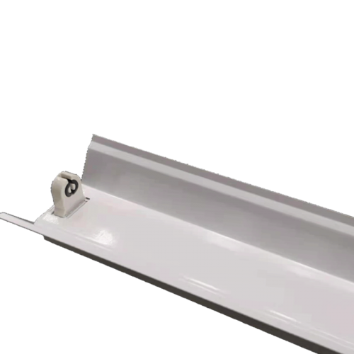 LED TL armatuur  reflector voor 1 buis 120cm  - 7893-montage met reflector 120cm
