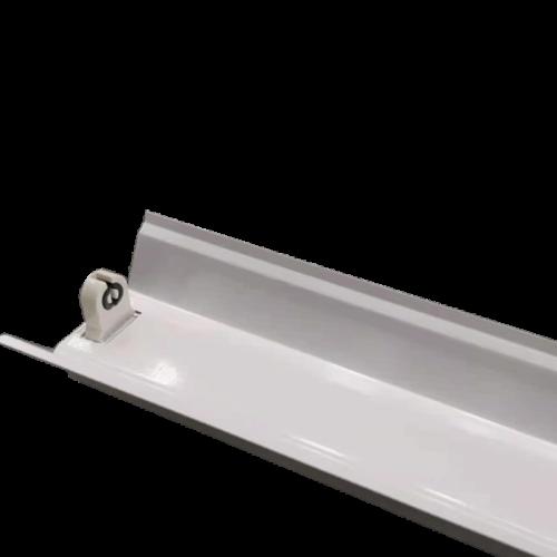 LED TL armatuur  reflector voor 1 buis 150cm  - 7894-montage bank reflector 150cm