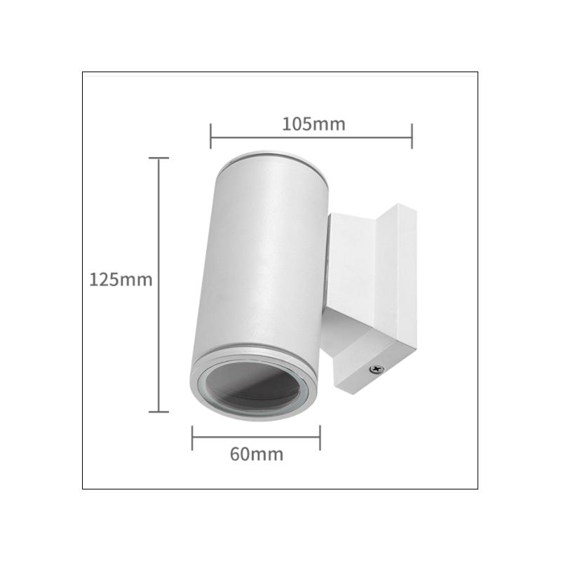 7106-wand-gu10-enkel wit