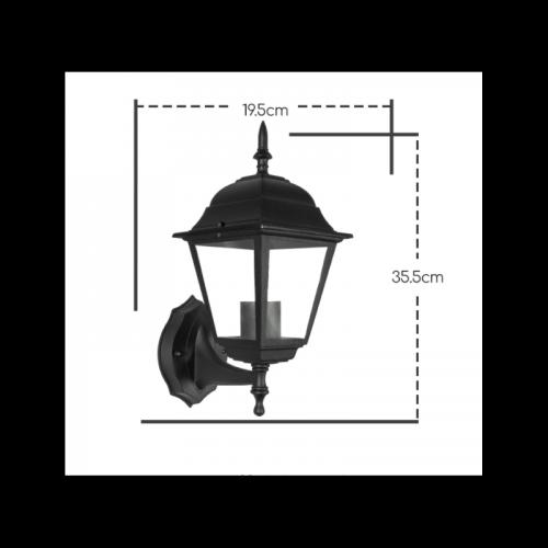 Wandlamp Elegance E27 IP44 - 7110-wandlamp elegance e27 ip44  