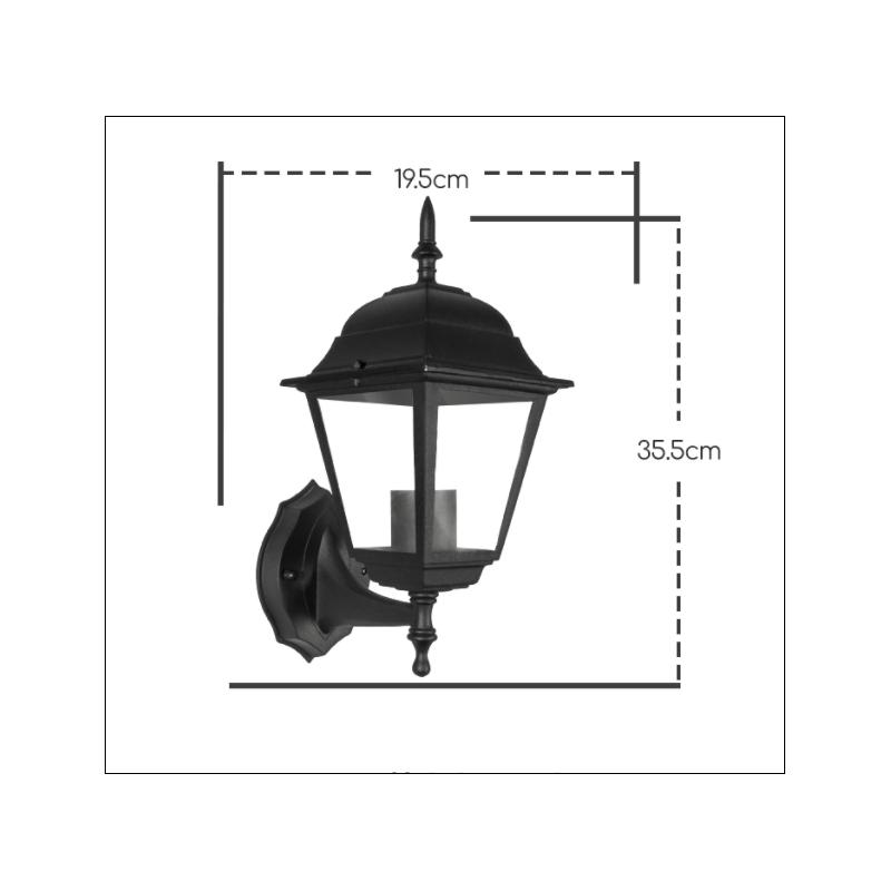 7110-wandlamp elegance e27 ip44  