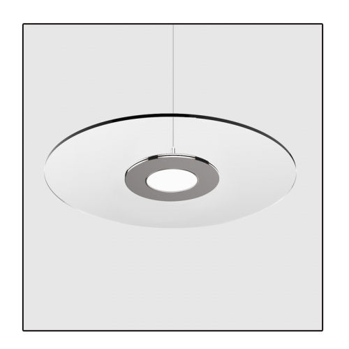 Transparant Led Paneel Ø300mm 15W CCT Kleurwissel - 6569-swinckels schotel
