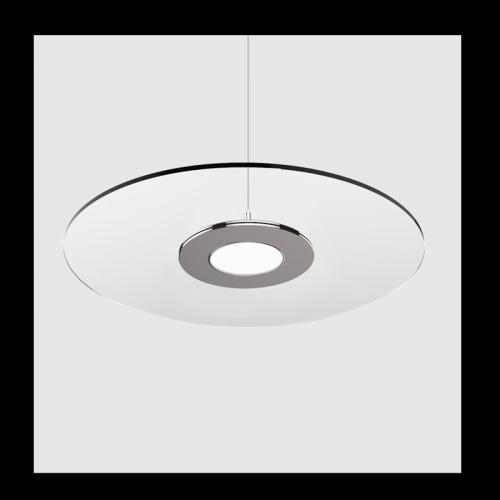 Transparant Led Paneel Ø600mm 30W CCT Kleurwissel - 6568-swinckels schotel