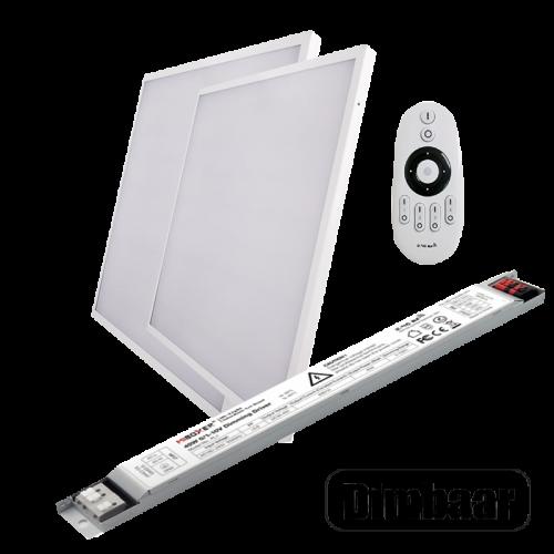 LED PANEL 40 WATT 595 X 595 MM RF DIMBAAR - 5037-led panel dimbaar mi-light