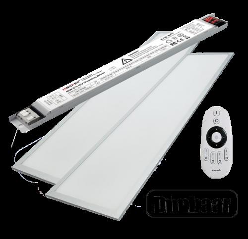 LED PANEL 40 WATT 295 X 1195 MM RF Dimbaar - 5038-led panel dimbaar mi-light 1-10v