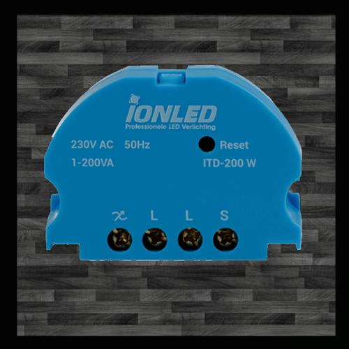 TOUCH LED DIMMER | 0.3-200 WATT  - 8733-swinckels-touch dimmer