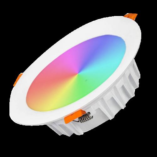 MiLight LED Downlighter 18w RGB + CCT - 3277-down-rgb cct