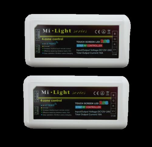 Led Strip RGBW Controller FUT039 - 8272-sll-rgbw-remote-12v-24v
