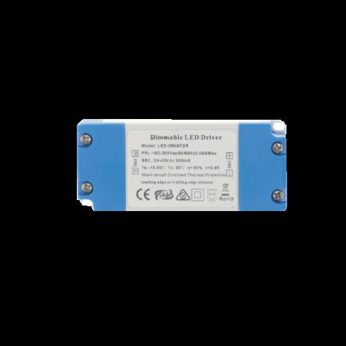 LED-Triac Driver-Dimmable 7-12 Watt - 9250-sll-dimm-panel rond 6 tot 12 watt