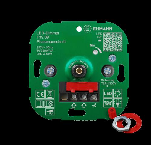 Led Dimmer voor Inbouw 7-110 Watt  T39.07 - 9201-sll-dimmer-7-110watt