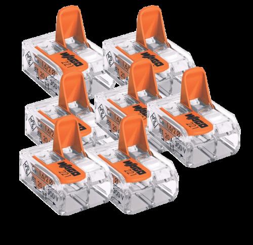 Wago Plug Lasklem 2-100 Stuks-origineel - 8306-sll-wago-plug-2