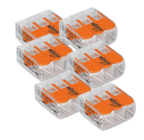 Wago Plug Lasklem 3- 50 Stuks Origineel - 8307-sll-wago-plug-3