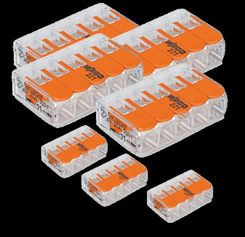 Wago Plug Lasklem 5 - 25 Stuks Origineel - 8308-sll-wago-plug-5