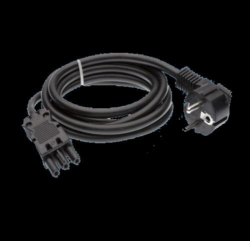 Led Accessoires GST18 Kabel EU Plug 3 meter Female - 9133-sll-gst18-eu