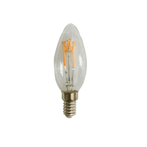 Led Lamp Filament 4W 2200 Kelvin Dimbaar-E14 - 6503-sll-bu-fila-cd374 bullet-e14
