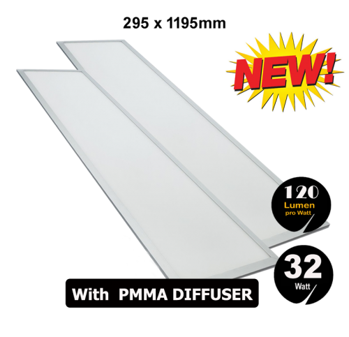 Led Panel 32 Watt 295 x 1195 mm 6000K 120LM - 5009-sll-pan-40w